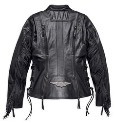 2320ced7ba4 Harley-Davidson® Women s Boone Fringed Leather Jacket