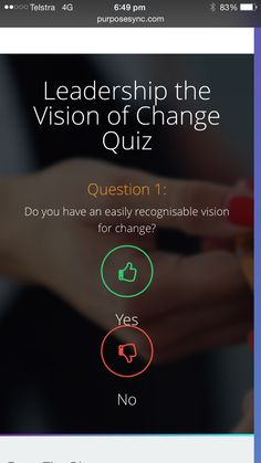 Have you taken the quiz http://www.purposesync.com/values-integration-quiz?utm_content=buffer434ca&utm_medium=social&utm_source=pinterest.com&utm_campaign=buffer?utm_content=buffer434ca&utm_medium=social&utm_source=pinterest.com&utm_campaign=buffer