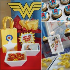 """Awesome """"Wonder Woman"""" Birthday Party! 