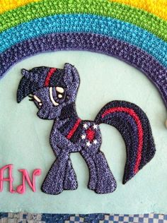My little pony cake  Twilight Sparkle