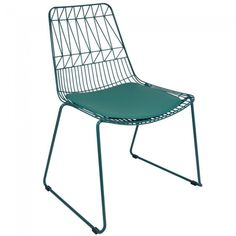 Kirstin Outdoor Chair Bent Wire Stackable Dining Chairs