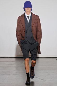 Raf Simons Menswear F/W 12: Vest