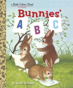 Bunnies' ABC by Garth Williams, Click to Start Reading eBook, A beloved 1950s Little Golden Book about the alphabet is back in print!  This classic Little Golden