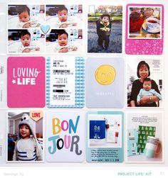 In a Creative Bubble: project life