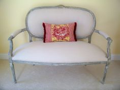 The Comforts of Home: French Settee Upholstery Tutorial