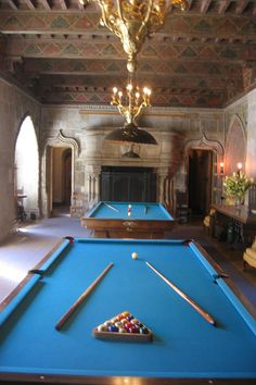 Hearst Castle -  The Billiard Room