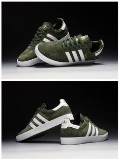 adidas Originals 350: Green/White