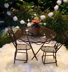 Fairy Garden Miniature Patio