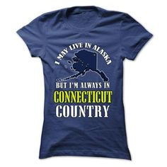 CT-AK - ALASKA CONNECTICUT Country - #tshirt text #nike sweatshirt. LIMITED TIME PRICE => https://www.sunfrog.com/States/CT-AK--ALASKA-CONNECTICUT-Country-twtqopirtb-Ladies.html?68278