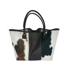 'Mrembo' cow hide shopper.   #Bags #jewellery #Africa  www.adeledejak.com