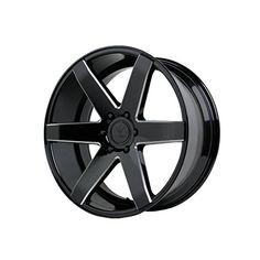 "Verde Custom Wheels V24 Invictus Gloss Black Wheel (20x9""/5x120mm) Reviews   $ 219.60 #TireWheelCare"