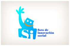 Foro de Innovación Social. © 2012 Veintiocho Estudio Creativo. #logotipo #logotype #veintiocho