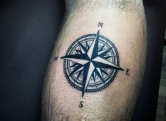 Cool Small Tattoos For Men Compass