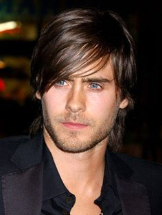 Jared Leto. This guy is beautiful! Originally known from the tv show my so called life in the 90s, then was seen in movies such as american psycho, fight club, and requiem for a dream. He has a progressive/alnernative rock band known as 30 seconds to mars and has been doing that for 10 or so years. This guy is all around talented and sexy.