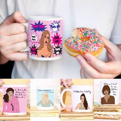 Real Housewives RHOBH Holiday Gift Set of 5 Mugs Beverly Hills Coffee Mugs  Pop Culture Reality TV by PopPastiche on Etsy