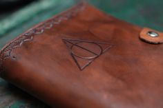 Harry Potter Deathly Hallows Book/Journal/Sketchbook Moleskine cover.