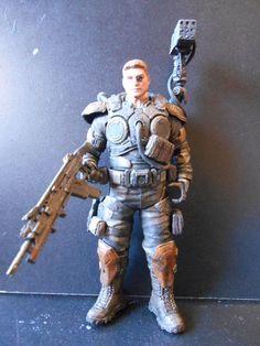 Gears of war Figure (Gears Of War) Custom Action Figure