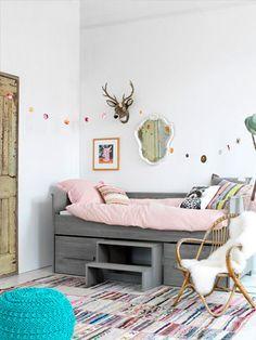 Ideas para dormitorios infantiles pequeños #habitacionesparaniñospequeñas #dormitoriospequeñosparaniños