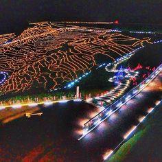 日本でしか見れない冬の絶景。石川県「棚田イルミネーション」が幻想的 | RETRIP