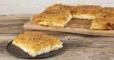 Μπουγάτσα με τυρί με φύλλο κρούστας από τον Άκη Πετρετζίκη. Εύκολη και γρήγορη συνταγή για μία τραγανή χειροποίητη πίτα με μπεσαμέλ και γραβιέρα! Φτιάξτε την! Greek Recipes, Raw Food Recipes, Vegetarian Recipes, Bougatsa Recipe, Eggs In Peppers, Nutrition Chart, Phyllo Dough, Processed Sugar, Cheese Recipes