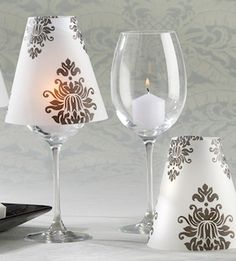 Maybe able to make these on our own? They will get a wine glass to take home.