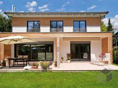 Kufstein Duo (individuell geplant) von Regnauer Hausbau Wohnfläche gesamt235 m² Zimmeranzahl11  Mehr Infos einholen auf der #Fertighaus.de Webseite:  https://www.fertighaus.de/nutzung/doppelhaus/?utm_source=Pinterest&utm_medium=Pinterest&utm_campaign=Doppelh%C3%A4user&utm_content=Doppelh%C3%A4user