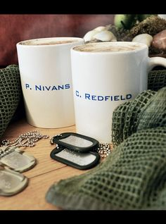 Redfield and Nivans mugs