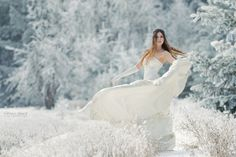 snow queen by Viktoria Haack, via 500px