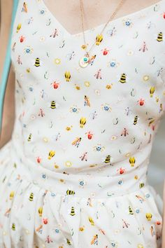 Cute and #colourful print #summer dress!