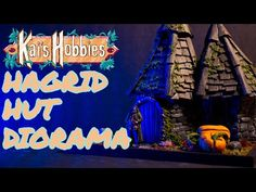 HAGRID HUT Diorama from scratch! (Harry Potter) - YouTube Mundo Harry Potter, Diorama, It Hurts, Youtube, Dioramas, Youtubers, Youtube Movies