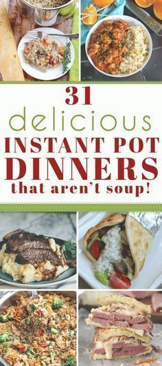 Quick & Easy Instant Pot Dinners These Instant Pot recipes are quick, easy, and super delicious!These Instant Pot recipes are quick, easy, and super delicious! Power Cooker Recipes, Pressure Cooking Recipes, Crockpot Recipes, Healthy Recipes, Prosciutto, Cooking For Two, Easy Cooking, Cooking Ideas, Cooking Light