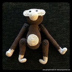 Print Friendly and PDF webpages Crochet For Kids, Diy Crochet, Crochet Toys, Rope Basket, Cross Stitch Patterns, Monkey, Diy And Crafts, Teddy Bear, Quilts