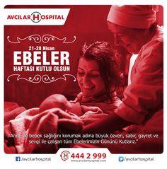 Tüm Ebelerimizin ; ''21-28 nisan Dünya Ebeler Haftasını '' Kutlarız .  #ebeler #ebe #ebelerhaftasi #21nisan #bebek #anne #saglik #istanbul #avcılar #avcilarhospital