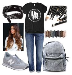 """""""Jeans"""" by melady0202 on Polyvore featuring мода, H&M, New Balance, Urban Decay и claire's"""