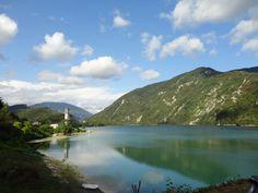 Lago del Corlo - Dolomites, province of Belluno, Veneto, Northern Italy photo by L.Giacobbi