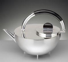 Bauhaus Teekanne MBTK 24SI von Marianne Brandt - Tecnolumen
