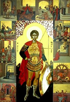 St Fanurie or Phanourios icon