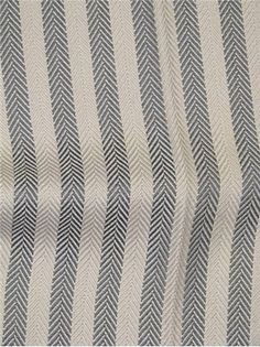 RL Desmond Herringbone Slate - Genuine Ralph Lauren Fabric - Up the roll herringbone stripe fabric. H x V wide. Textile Prints, Textile Design, Textiles, Ralph Lauren Fabric, Dobby Weave, Striped Fabrics, Wool Fabric, Fabric Swatches, Fabric Decor