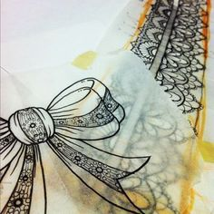 Lace Garter Tattoo Design Lace