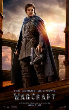 Warcraft Movie Khadgar Ben Schnetzer Poster