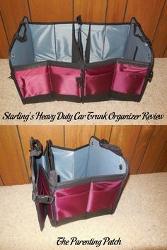 Starling's Heavy Duty Car Trunk Organizer Review                                                                                                                                                                                 More
