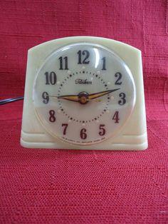 RESTORED Telechron GLOW Alarm Clock by VintageRevivalStudio, $55.00