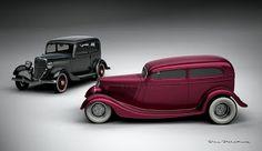 1933 Ford Model A Custom