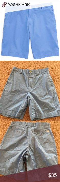 Men's Southern Tide Shorts EUC- Intracoastal waterway Southern Tide Shorts Flat Front
