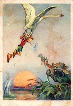 Alice Fox and the Cat Basilio. (Artist L. Vladimirsky ...
