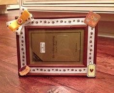 Dog lover 4x6 picture frame on Etsy, $8.99