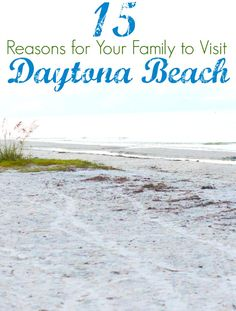 15 Reasons Why Your Family Should Visit Daytona Beach Best family attractions for families at Daytona Beach, Florida + list of FREE things to do (ad) Florida Vacation, Florida Travel, Florida Beaches, Vacation Spots, Vacation Ideas, Ormond Beach Florida, Daytona Beach Florida, Daytona Beach Spring Break, Florida Activities