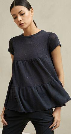 Brunello Cucinelli S/S – Schwanger Kleidung Fashion 2018, Look Fashion, Fashion Outfits, Womens Fashion, Fashion Design, Hippie Fashion, Sewing Clothes, Diy Clothes, Clothes For Women