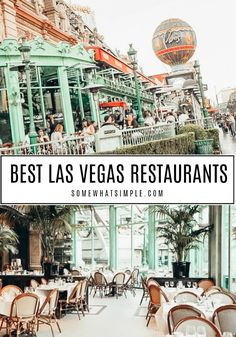 Without a doubt, the Las Vegas Strip has some of the best restaurants in the world! From steak to Italian, there's something to fit everyone's taste. After visiting numerous places, here is a list of the best restaurants in Las Vegas that you have to try! Las Vegas Brunch, Las Vegas Food, Las Vegas With Kids, Las Vegas Vacation, Italian Food Las Vegas, Shopping In Las Vegas, Las Vegas Travel, Best Food In Vegas, Usa
