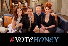 The Cast of Will and Grace Reunite In Character For a New Scene Discussing the 2016 Election